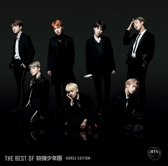 「THE BEST OF 防弾少年団 -KOREA EDITION-」<通常盤>