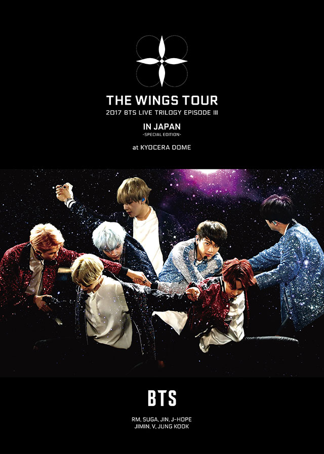 2017 BTS LIVE TRILOGY EPISODE Ⅲ THE WINGS TOUR IN JAPAN ~SPECIAL EDITION~ at KYOCERA DOME