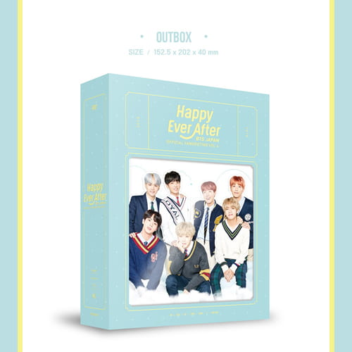 BTS JAPAN OFFICIAL FANMEETING VOL.4 ~Happy Ever After~ DVD