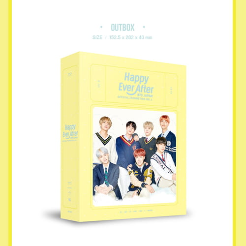 BTS JAPAN OFFICIAL FANMEETING VOL.4 ~Happy Ever After~ Blu-ray