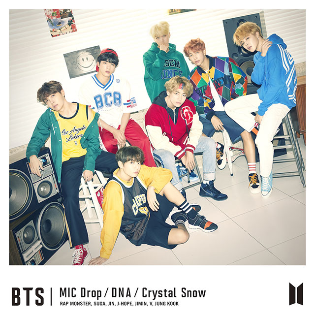 「MIC Drop/DNA/Crystal Snow」<初回限定盤A>