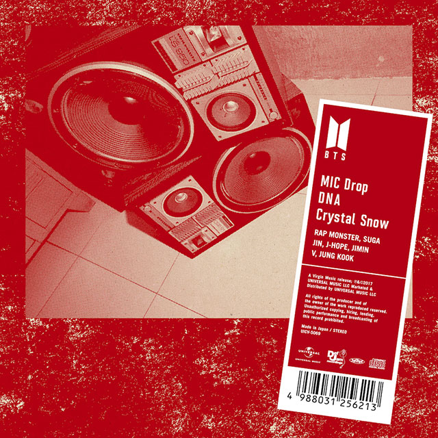 「MIC Drop/DNA/Crystal Snow」<通常盤>
