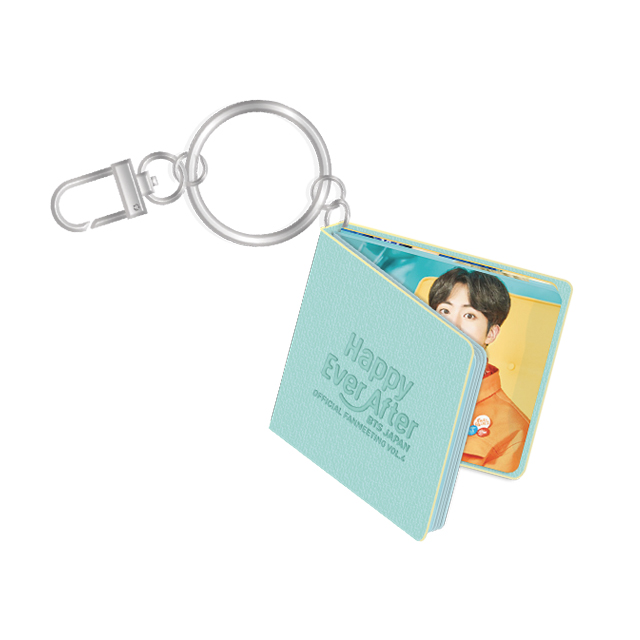 BTS JAPAN OFFICIAL FANMEETING VOL.4 ~Happy Ever After~ MINI BOOK KEYRING