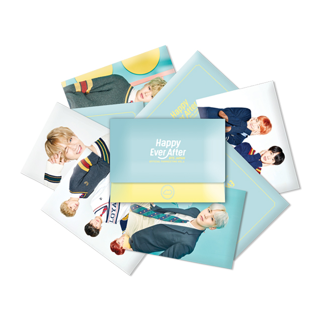 BTS JAPAN OFFICIAL FANMEETING VOL.4 ~Happy Ever After~ MINI PHOTO CARD