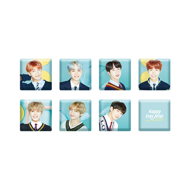 BTS JAPAN OFFICIAL FANMEETING VOL.4 ~Happy Ever After~ CUBE MAGNET SET