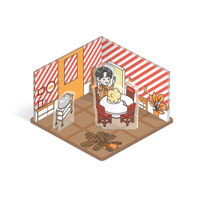 BTS JAPAN OFFICIAL FANMEETING VOL.4 ~Happy Ever After~ MINI ACRYLIC STAND(JIN)