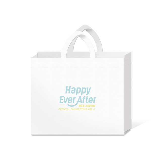 BTS JAPAN OFFICIAL FANMEETING VOL.4 ~Happy Ever After~ SHOPPER BAG